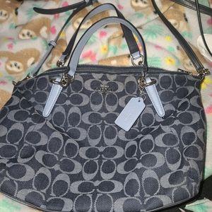 Navy Blue Coach Crossbody/Handbag